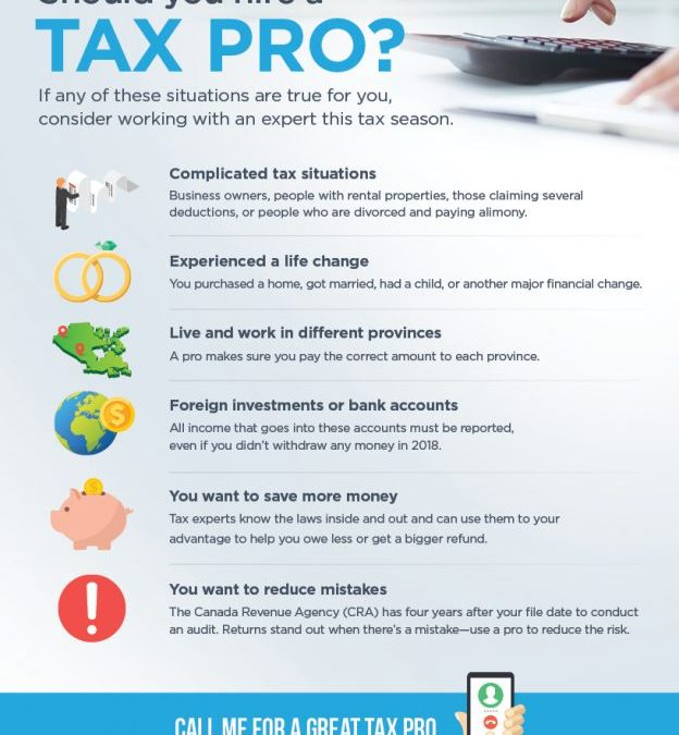 When should you hire a tax pro?